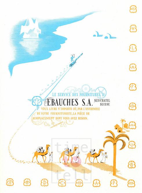 Ebauches SA 2 BR