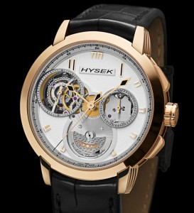 HYSEK's fresh vision of the chronograph's mechanical beauty