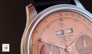 Chronographes calendrier avec réglage par lunette tournante